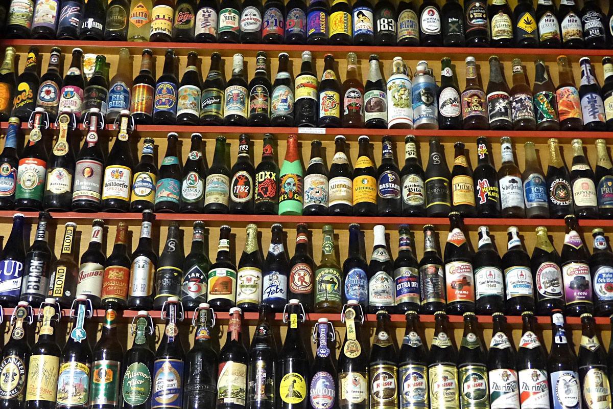 Bierflaschen Etikett