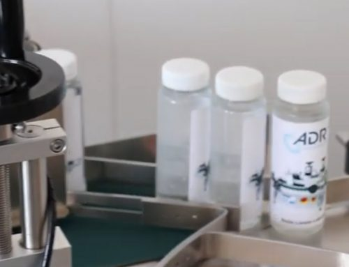 Flaschen Etikettierer für Ampullen und Vials