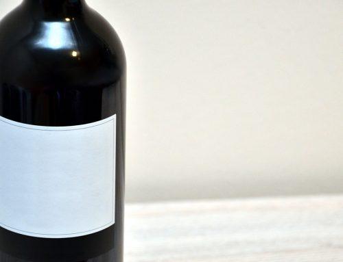 Flaschen Etikettierer Weinflaschen